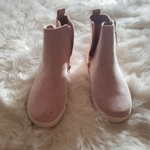 Justice Shoes - Brand new pink glitter booties